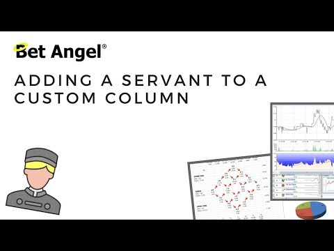 Bet Angel – Adding A Servant To A Custom Column