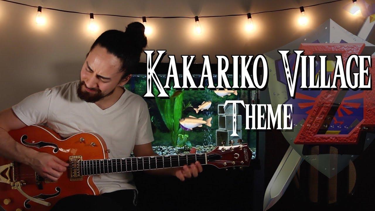 """Kakariko Village Theme"" (Solo Guitar)"
