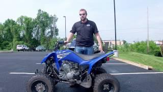 2. 2011 Yamaha Raptor 125