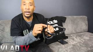 Lord Jamar Shows Off Hidden Camera to Combat Police Brutality