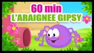 L'araignée Gipsy - 60 min de comptines des Titounis ! - YouTube