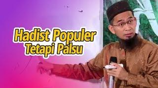 Video HADIST-HADIST PALSU TAPI POPULER - Ustadz Adi Hidayat LC MA MP3, 3GP, MP4, WEBM, AVI, FLV Desember 2018