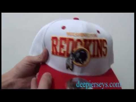 Whrere to Buy Cheap and Free shipping NFL Washington Redskins White Hats
