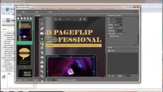 Creating a wonderful flash book easily with 3d page flip pro