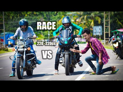 Video Pulsar 220 vs avenger 220 drag race download in MP3, 3GP, MP4, WEBM, AVI, FLV January 2017