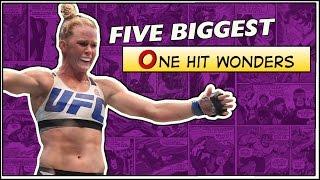 Video Five Biggest One Hit Wonders In UFC History MP3, 3GP, MP4, WEBM, AVI, FLV Oktober 2018