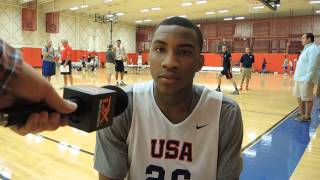 Rasheed Sulaimon Interview at USA Basketball U19 World Championship Tryouts