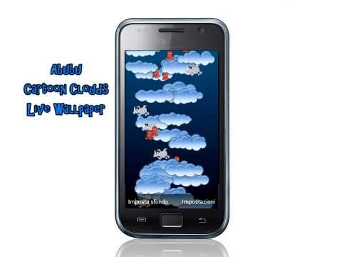 Video of Clouds live wallpaper lite