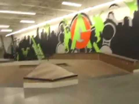 Anti Gravity Skatepark, overview, design
