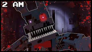 Minecraft FNAF - Nightmare Bonnie | 2 AM (FNAF Minecraft Roleplay)