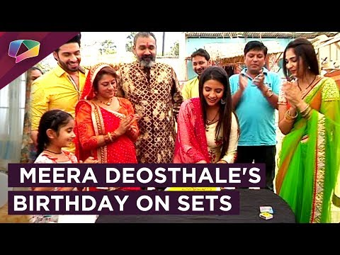 The Cast Of Udann Celebrates Meera's Birthday!