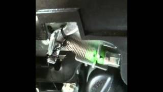 8. Honda Metropolitan seat release