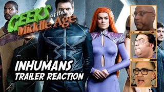 We review and react to the leaked trailer for INHUMANS, a new ABC TV show based on the classic Marvel comic book.