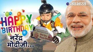महिला ने 13 हजार फुट की ऊंचाई से छलांग लगाकर दी प्रधानमंत्री मोदी को जन्मदिन की बधाई