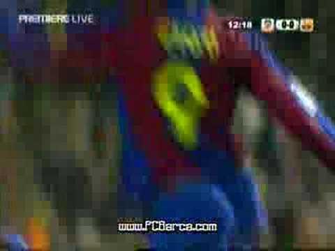 super goal di eto'o al valencia - liga 2007/2008