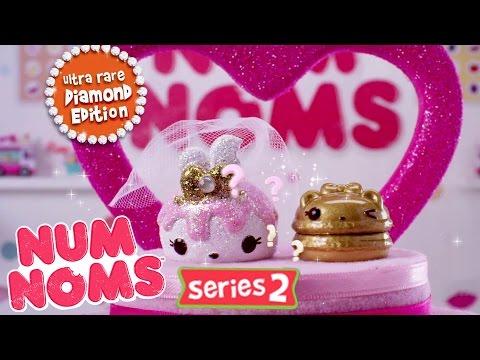 Num Noms Series 2 Ultra-Rare Diamond Edition   :30 Commercial (видео)