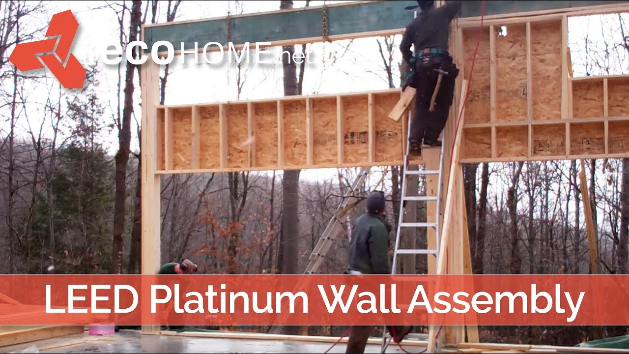 Demo house framing with fsc certified lumber green home for Green home guide