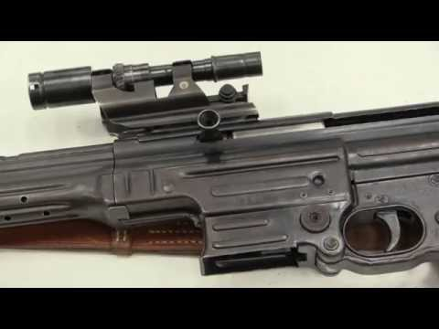 rifle - http://www.rockislandauction.com/viewitem/aid/62/lid/1470 The MKb-42(H), or Maschinenkarabiner-42 (Haenel), was the first production iteration of the German Sturmgewehr. It was chambered for...