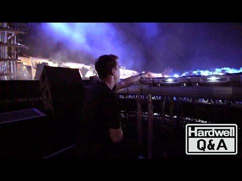 Hardwell Q&A // Behind The Decks // New Announceme...