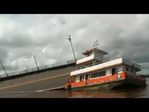 Brasilien: Schiff bringt Brücke zum Einsturz