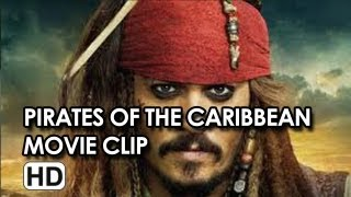 "Johnny Depp in ""Wet Again"" Movie Clip from Pirates of the Caribbean: On Stranger Tides"