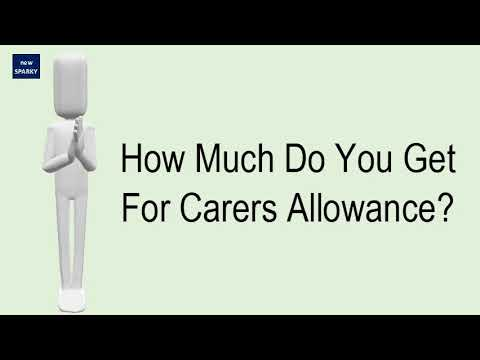 How Much Do You Get For Carers Allowance?