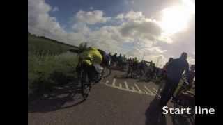 """Estafetteloop """"Rondje Voorne"""" - 60 km - 16 juni 2013"""