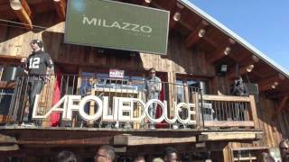 DJi osmo sound test: La Folie Douce Val thorens