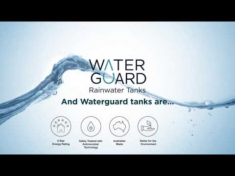 Rainwater Tanks - The latest Innovation: Introducing Waterguard from Polymaster