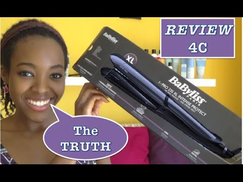 |4C FRANK REVIEWS| 1. BaByliss Straighteners + TIPS