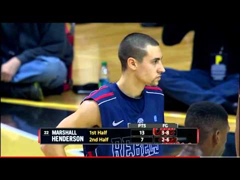 Marshall Henderson looses his Crazy on Vanderbilt (Plus buzzer-beater)