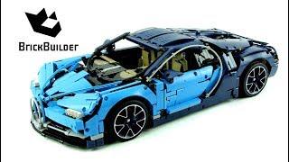 Video Lego Technic 42083 Bugatti Chiron - Lego Speed build MP3, 3GP, MP4, WEBM, AVI, FLV Juni 2018