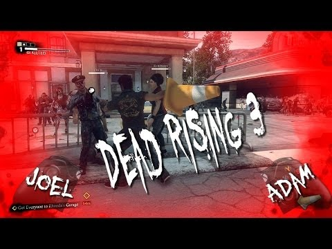 WITH - Adam (Ellis) and Joel (Not Ellis) keep the dead from rising by beating them with a cone. Later, they would also play Dead Rising 3. Since Adam was unable to ...