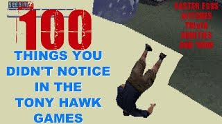 Video 100 Things You Didn't Notice in Tony Hawk Games MP3, 3GP, MP4, WEBM, AVI, FLV Maret 2019
