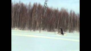 1. 2008 Yamaha Phazer GT Fun in snow
