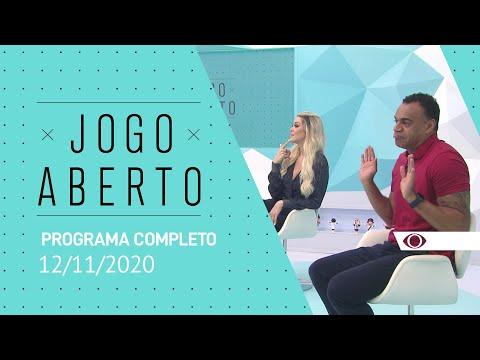 JOGO ABERTO - 12/11/2020 - PROGRAMA COMPLETO
