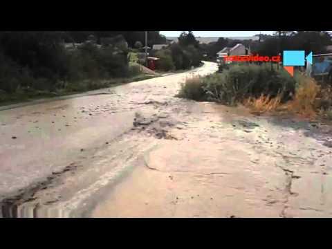 Menší záplavy