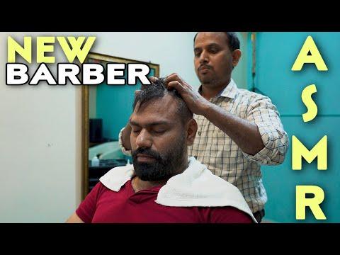 ASMR HEAD MASSAGE FOR SCALP PROPER BLOOD CIRCULATION 💈NECK CRACKING #IndianBarber #ASMR