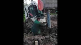 betono uzpylimas