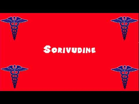 Pronounce Medical Words ― Sorivudine