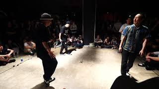 BOOGIE NATION (Masao & Ryuzy) vs Funk Satisfaction (Ryosuke & Dai) – WDC 2019 POPPIN' BEST16