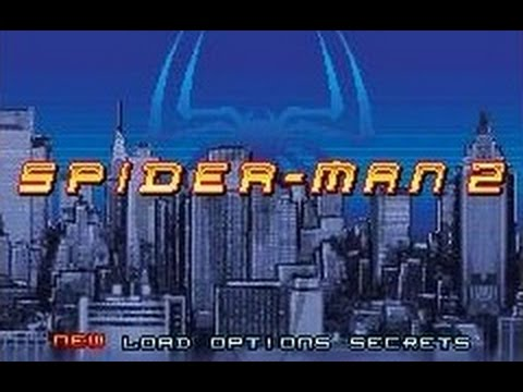 spider man game boy advance sp