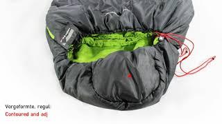 Cпальный мешок кокон для отдыха на природе High Peak Black Arrow