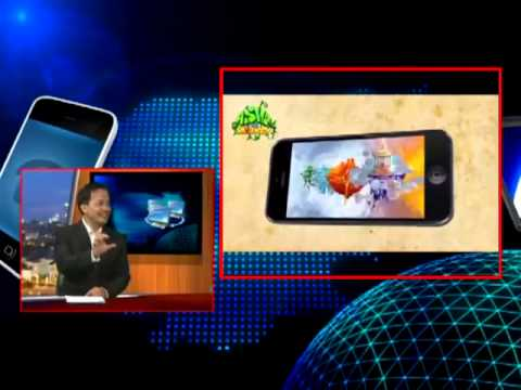 Asva The Monkey (#1 Top Paid Game on App Store Cambodia) featured on CNC TV's Today Show