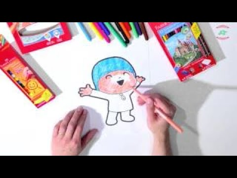 Pocoyo português Brasil - Let's Go Pocoyo! - Cores [Episódio 6] em HD