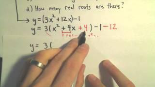 Conic Sections: Parabolas, Part 1