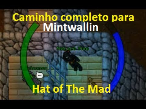 Tibia – Hat of The Mad Quest (100% Incluindo Mintwallin), chave na descrição