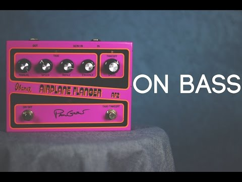 Ibanez AF2 Airplane Flanger [Bass Demo]