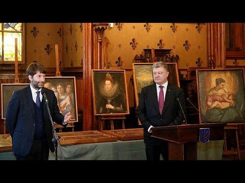 Στο μουσείο της Βερόνα επιστράφηκαν 17 κλεμμένοι πίνακες ζωγραφικής
