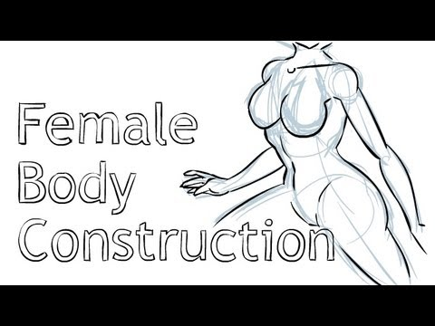 female body drawing tutorial
